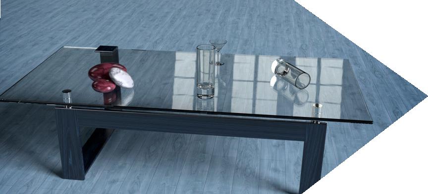 Stůl šipka